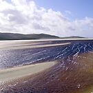 Sandbars on a Hebridean Beach by BlueMoonRose
