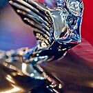 A 1938 Cadillac V-16 Sedan &quot;Goddess&quot; Hood Ornament  2 by Jill Reger