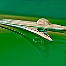 1955 Packard Clipper Custom Sedan Hood Ornament by Jill Reger