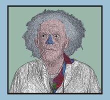 Doc Brown Back to the Future by CultureCloth