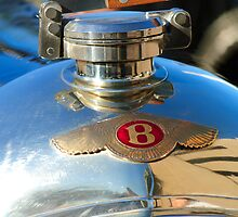 1927 Bentley 3-Litre Sports Hood Ornament by Jill Reger