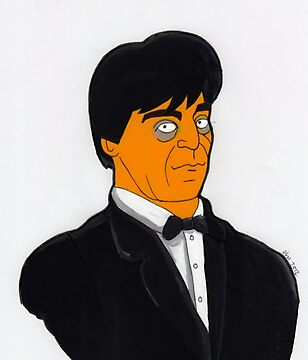 Doctor Who - Patrick Troughton - Simpson-esque  by Donnahuntriss