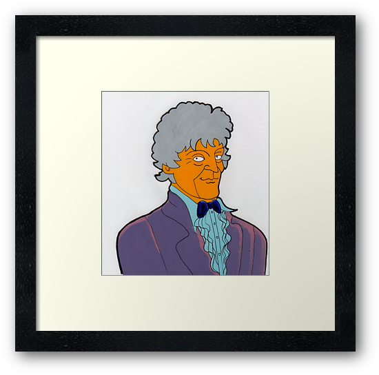 Doctor Who - Jon Pertwee by Donna Huntriss