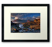 Elgol Burn and the Cuillin. Isle of Skye. Scotland. Framed Print