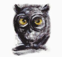 """""""Little owl boy (big)"""" by Tatjana Larina"""