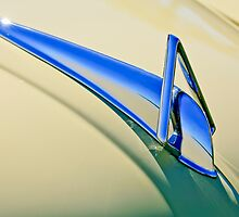 1948 Hudson Hood Ornament by Jill Reger