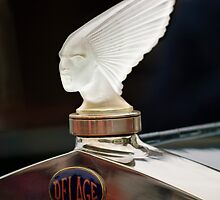 "Rene Lalique ""Spirit of the Wind - Victoire"" Hood Ornament by Jill Reger"