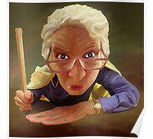 Mrs Crabass Poster