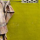Cloth on a line - Mysore by Marjolein Katsma