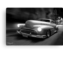 Buick Noir Canvas Print