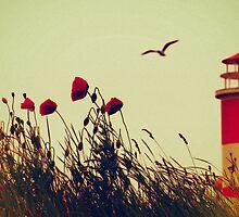 Damals am Leuchtturm by Aviana