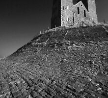 Reculver Castle by Pepperkayn