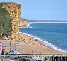 West Bay Beach, Dorset by lynn carter