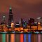 Sears Tower Night by tmbolle