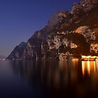 Il lago di notte by Martina Fagan