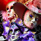 Maschere di Venezia-maschera di carnevale di Venezia by Martina Fagan