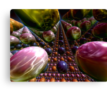 The Easter Egg Factory Canvas Print