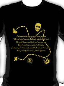 Goonies Oath Gold T-Shirt