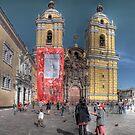 Iglesia de San Francisco - Lima, Peru by Edith Reynolds