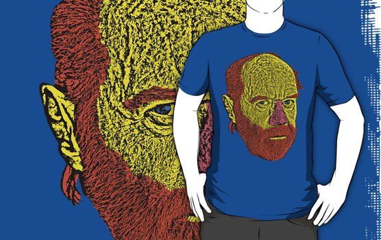 George Carlin by CultureCloth