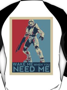Halo 3 - Wake Me When You Need Me T-Shirt