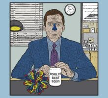 The Office Michael Scott by CultureCloth