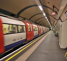 London Underground: Camden Town by Ashley-Nicole