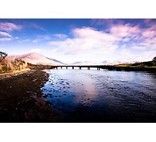 Old Railway Bridge, Cahersiveen Photographic Print