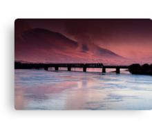 Iron Bridge, Cahersiveen, Co Kerry. Canvas Print