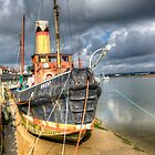 Old Ship In Maldon Harbour by Thasan