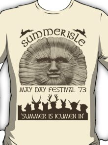 Summerisle May Day Festival 1973 T-Shirt