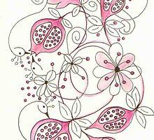 Pomegranate Garden by Julia Keil