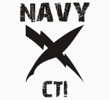 US Navy CTI Insignia - Black by courson