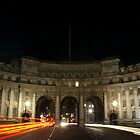 Admiralty Arch between Trafalgar Square and The Mall, London by Magdalena Warmuz-Dent