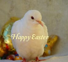 Easter Peace... - Happy Easter Dove - NZ by AndreaEL