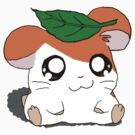Hamtaro with Leaf by Abby Schnitzer