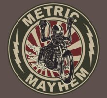 Metric Mayhem Rider by Jesse Scroggins