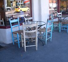 """""""Chairs and Tables"""" Part of a Series by waddleudo"""