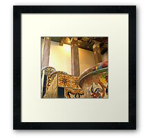 """Spanish Pots on Tiers"" Framed Print"