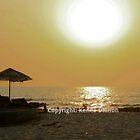 an afternoon at Anjuna, Goa by kenea