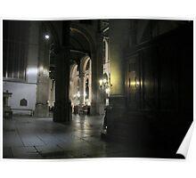 Inside the 'St. Janskerk' Gouda Poster