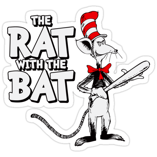 The Rat With The Bat by anfa