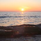 Sunset on the Great Lakes by Sonya Lynn Potts