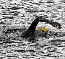 Triathlon Swimmer by Ari Salmela