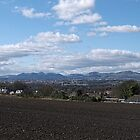 View over to the Pentland Hills by AmandaJanePhoto