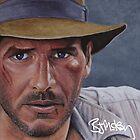 Indiana Jones by barrymckay