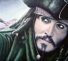 Jack Sparrow by barrymckay