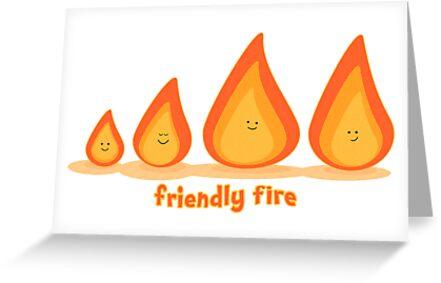 Friendly fire by puppaluppa
