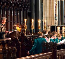 Choir Practice - Salisbury Cathedral by JPassmore
