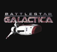Battlestar Galactica Viper T-shirt by Chris Cardwell